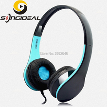 SONGIDEAL Wired Portable Game Headsets Build in Microphone Srereo Sound Over Ear Headphones for PC Laptop MSN Skype Desktop Game