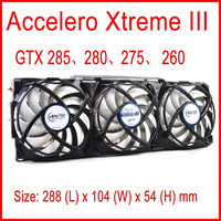 ARCTIC Accelero Xtreme III VGA Cooler 3 Quiet 92mm PWM Fans For AMD NVidia GTX 285