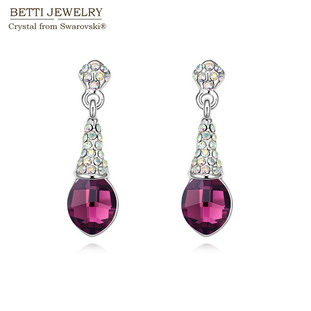 2016 classic water drop chaming pendant earrings design for women 2016 classic water drop chaming pendant earrings design for women with genuine crystals from swarovski for aloadofball Image collections