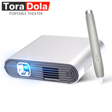 TORA DOLA PH20, Touch DLP Projector with Stylus Pen Android 7.0 WIFI, Bluetooth, 5400mAH Battery, HDMI, Portable Theater, LED TV
