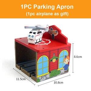 Image 3 - Vías de tren de madera de haya para niños, accesorios de túnel de puente de ferrocarril, piezas de tren de madera para Brio, juguetes educativos para niños, regalos