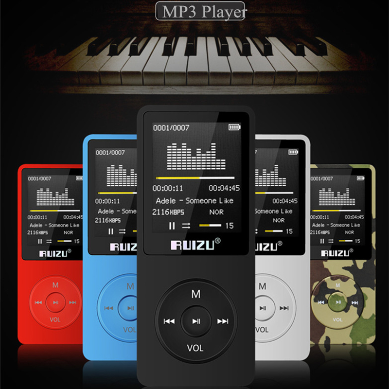 Original RUIZU X02 MP3 Player With 1 8 Inch Screen Can Play 100 hours 4gb With