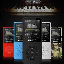Original RUIZU X02 MP3 Player Con 1.8 Pulgadas de Pantalla Puede Jugar 100 horas, 4 gb Con FM, E-libro, reloj, de Datos envío gratis
