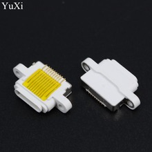 10pcs/lot white DC Power Mini USB Jack for Apple iPad 5 iPhone Ipad Mini 2 Charging Port Female Socket Micro USB connector 10pin пуховик мужской trespass romano цвет синий majkdom20007 размер m 50
