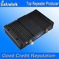Hign ganancia repetidor GSM 900 1800 amplificador de señal AGC MGC GSM 900 MHz GSM 1800 MHz de doble banda 2 G teléfono celular amplificador de señal 75db