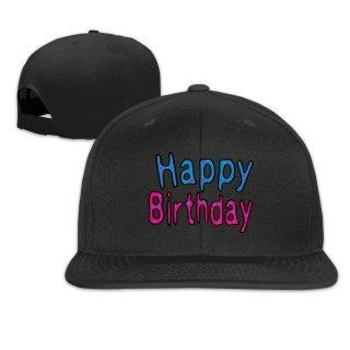 2017 Happy Birthday Fashion CSnapback Hat Printed Hip Hop Baseball Cap Casual Sun Flat Casquette For Men Women Free Shipping