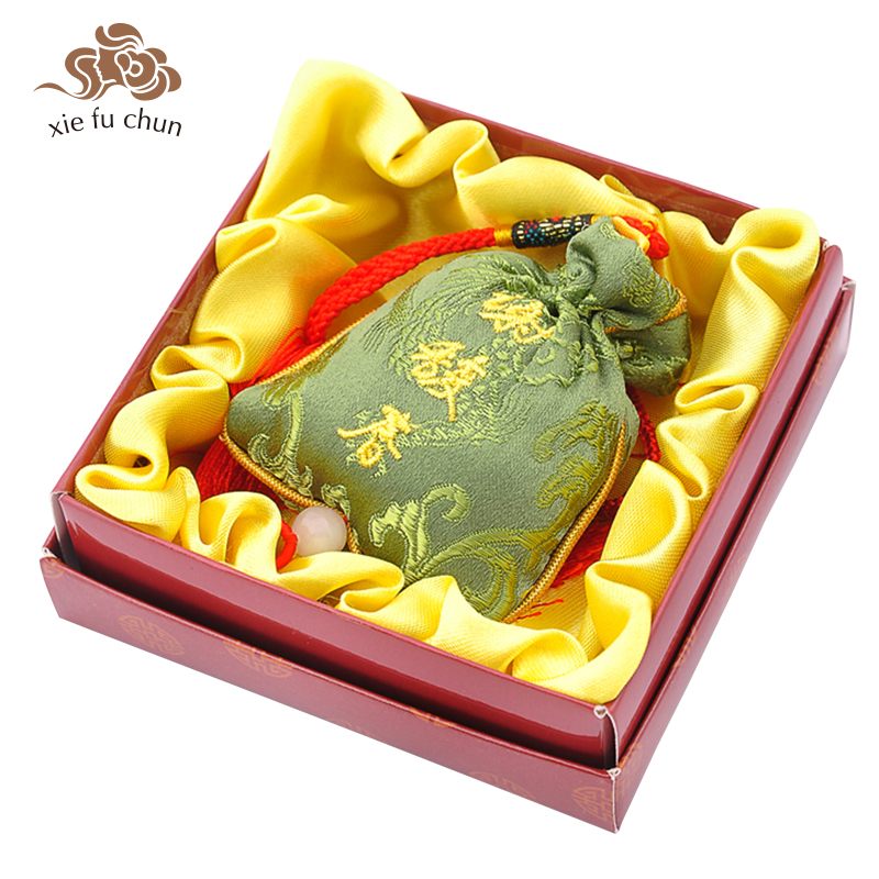 Xiefuchun Osmanthus Perfume Sachet Scented Sachet Aromatic Car Perfume Fragrance Deodorant Bag Wardrobe Air Freshener XFC12 2