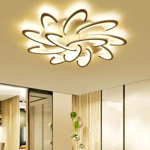 Image 4 - Led Chandelier for living room dining room study room bedroom lamp creative light modern simple decoration