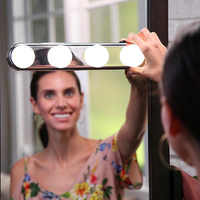 Makeup Mirror LED Light Bulbs Vanity Cabinet Light For Bathroom Studio Battery Powered Lamp Portable Cosmetic Mirror Light