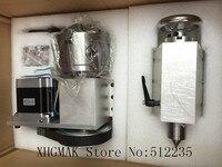 Best качество NEMA 34 шаговый двигатель (4:1) k12 100mm 4 Челюсти Зажимы 100 мм ЧПУ 4th оси aixs ось вращения + бабки для ЧПУ