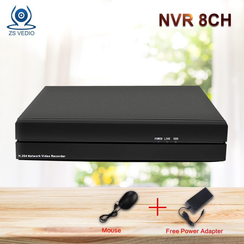 ZSVEDIO NVR 8CH 1080P ONVIF H.264 Wifi FTP Network security Video Recorder Support CCTV IP Camera Video System Remote View P2P hd security cctv onvif nvr 8ch poe network video recorder h 264 hdmi vga support 1 sata hdd p2p for cctv security camera system
