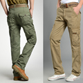 High Quality Mens Casual Cotton Breathable Multi Pocket Military Army Camouflage Cargo Pants Cool Trousers for Man  MG92