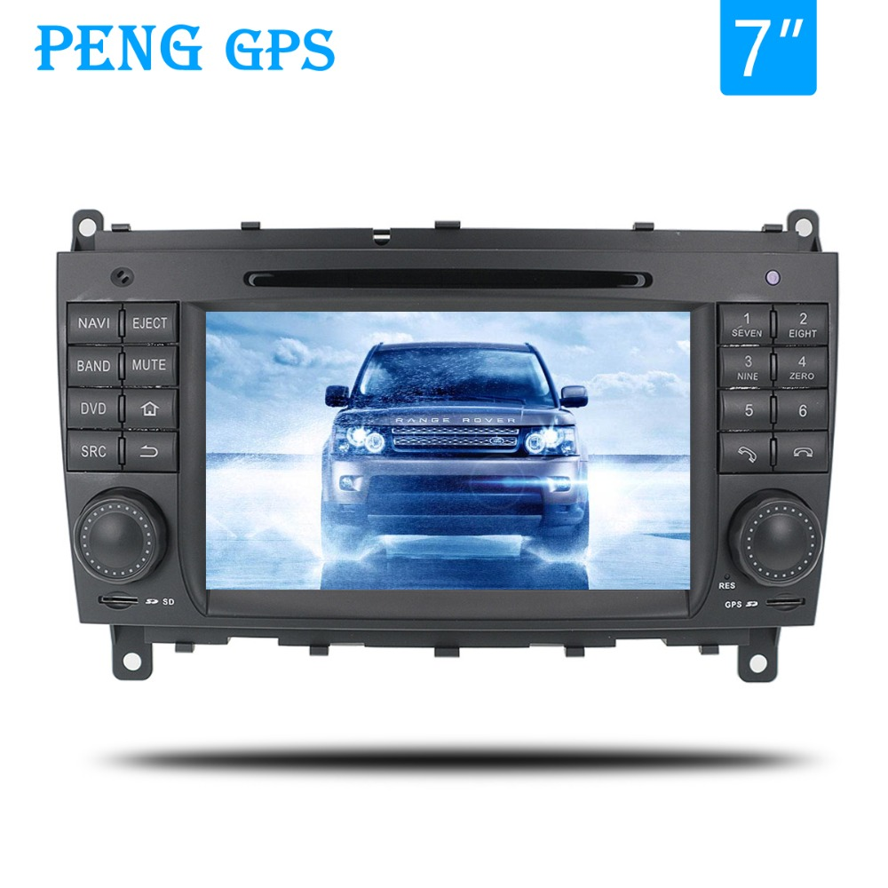 Android 9.0 Car GPS <font><b>Radio</b></font> DVD Player For <font><b>Benz</b></font>-<font><b>W203</b></font> 2004-2007 CLK W209 2004 2005 with 4GB 32GB Auto Stereo Multimedia <font><b>navi</b></font> image