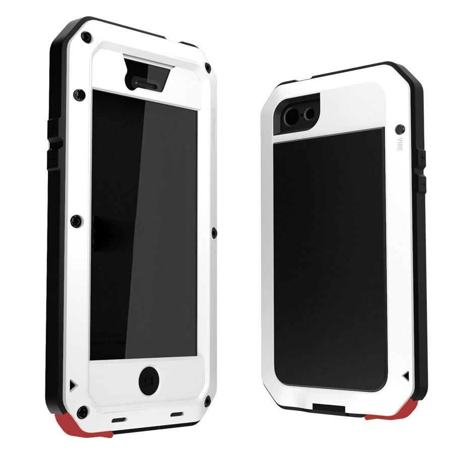 bilder für Heißer verkauf 6 Farben Wetter/Dirt/Shock proof Metalllegierung Handy fall für iphone 5 5 s SE