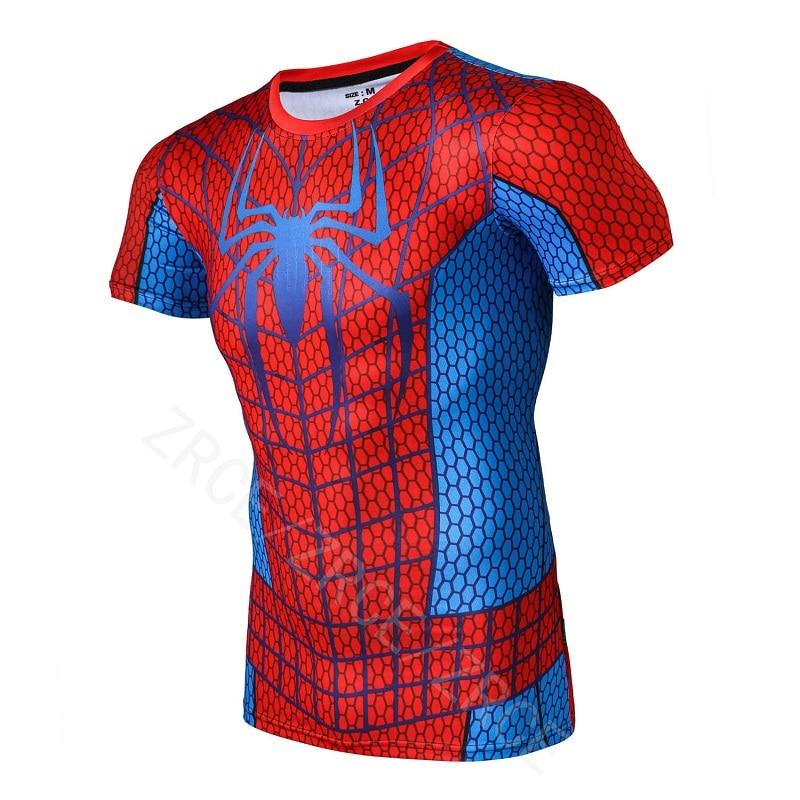 ZRCE Men Fitness Short sleeves Tops t shirt