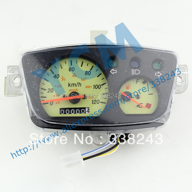 Scooter  Instrument , Motorcycle Speedometer, Tachometer , YB-BWS , Free Shipping
