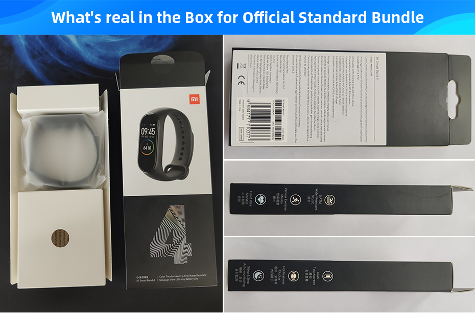 Global Version Xiaomi Mi Band 4 Smart Watch
