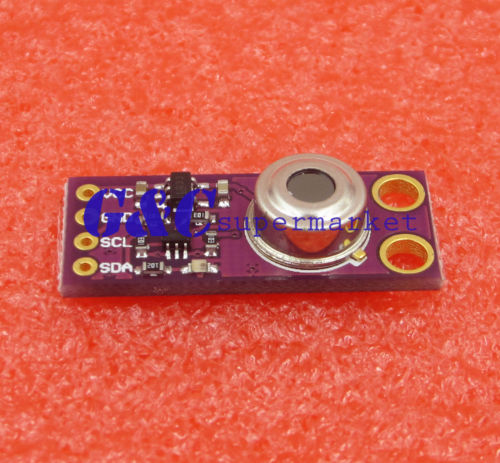 Infrared Non-Contact Temperature Measuring Sensor Module MLX90614 BBA Sensor new