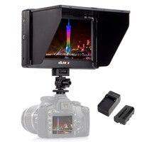 Viltrox 7 ''DC 70II Clip on HD ЖК дисплей Вход HDMI AV 4 К видеокамера с контрольным дисплеем + батарея + зарядное устройство для Canon Nikon DSLR BMPCC