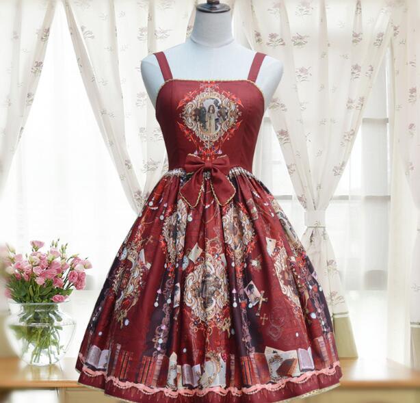 lolita font b blouse b font dress is posed snow spins condole belt lolita skirt restoring