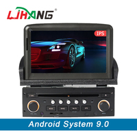 LJHANG 1 Din Car DVD Multimedia Player Android 9.0 for Peugeot 307 GPS Navigation Bluetooth Steering Wheel Control RDS WIFI IPS