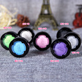 New Makeup Eye Shadow Palette In Shimmer Metallic White Eyeshadow Purple Eyeshadow