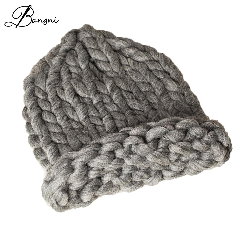 2017 Warm Winter Hat For Women Beanies candy color thick wool Knitted Hats Skullies And Beanies Knit Skating Caps Female Beanie fibonacci winter hat knitted wool beanies skullies casual outdoor ski caps high quality thick solid warm hats for women