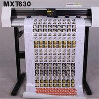 Mxt630 61cm largura câmera posicionamento automático 3 m filme reflexivo contorno de corte plotter máquina etiqueta plotter Plotadora gráfica     -