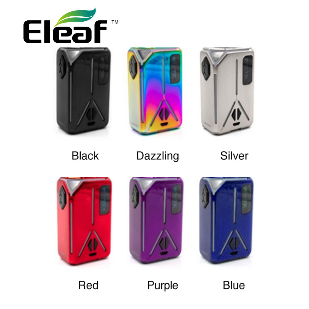 235W Original Eleaf Lexicon TC Box MOD with 235W maximum output & 2A quick charge no 18650 battery Electronic Cigarette vape Mod