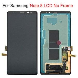 """Image 3 - جديد 6.3 """"لسامسونج غالاكسي نوت 8 LCD N950 N950F شاشة الكريستال السائل محول الأرقام بشاشة تعمل بلمس assamly استبدال أجزاء الإطار"""