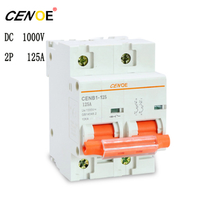 Image 3 - most ideal 2p 1000V 63A 80A 100A 125A photovoltaic dc circuit breaker for protection solar power system important components