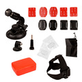 5-in-1 Sports Action Camera Accessories Kit for Gopro HERO 1 2 3 3+ Xiaomi Yi motion cameras for Cycling Riding Camping LMPJ