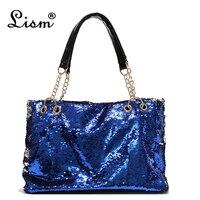 2018 new sequins handbags fashion Messenger bag shoulder bag multi color color high quality handbag fashion Europe