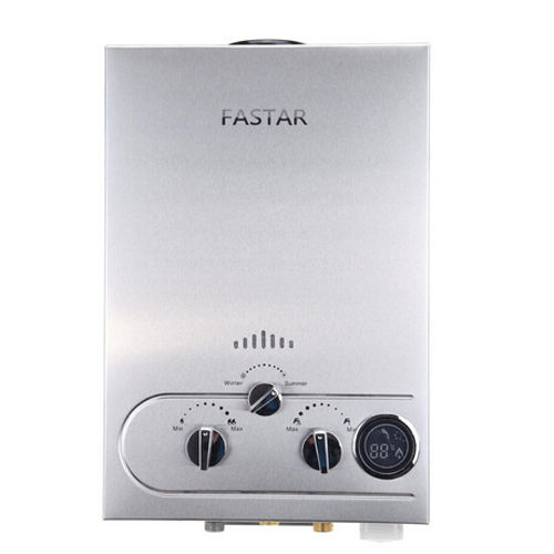 Real Ce Flue Type 100% Quality Flue Type 8l Lpg Instant Hot Water Heater Propane Stainless Tankless Wash Shower Boiler