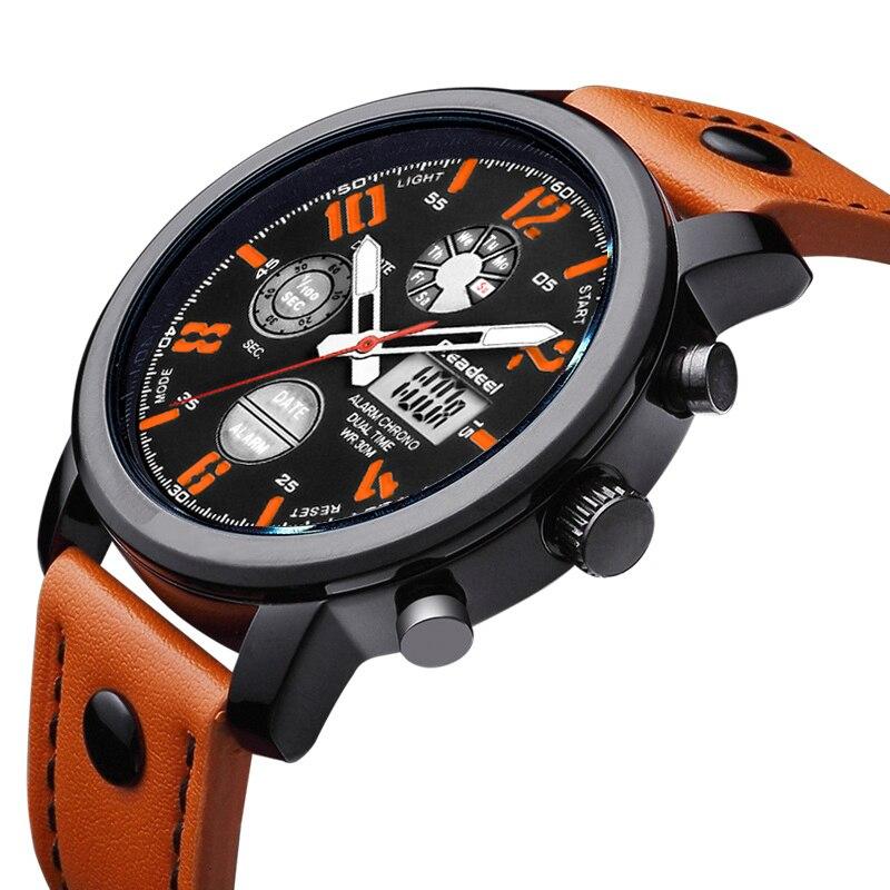 Comprar 2018 Readeel superior de los hombres de la marca de lujo reloj de  deporte de moda reloj de cuarzo Digital relojes para hombre impermeable reloj  de ... d8e098072d74
