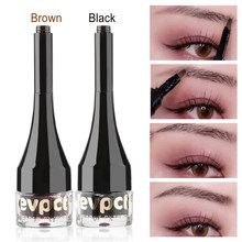 Make Up Black&Brown Eyebrow Wigs Fiber Extensions Eye Brow Cream Gel Tint Pen Waterproof Instant Eyebrow Tattoo Pen Sweat-proof(China)