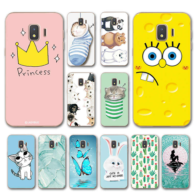 Animal Various Case For Samsung Galaxy J2 Core Fashion Flower Capa Phone Shell For SamsungJ2 Core Cover Fundas Housing SM-J260F