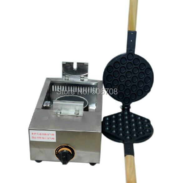 Free Shipping Commercial Non-stick Electric 25pcs Ball Donut Waffle Iron Maker Plate Machine