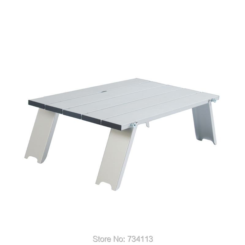 MEIBIN Ultralight table Outdoor mini folding portable table picnic table light aluminum travel table for wild camping