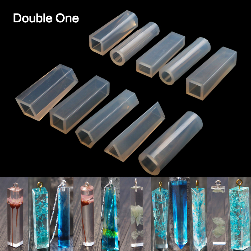 127 Packs Jewelry Making Molds Set Pendant Resin Casting Mould Craft DIY Tools