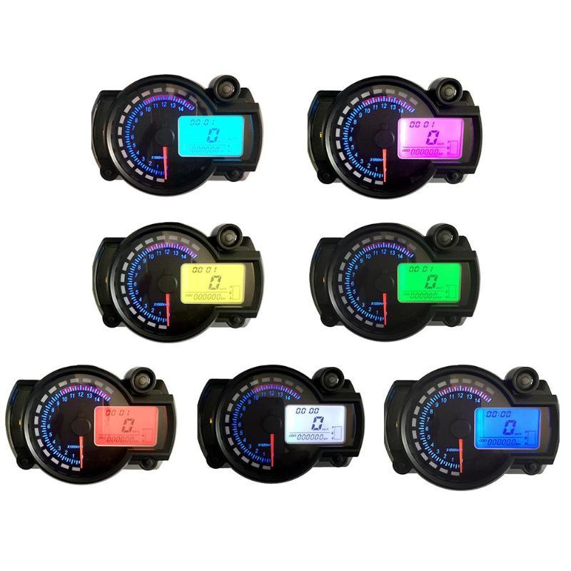 Aliexpress Com   Buy Dc 12v 7 Color Motorcycle Digital