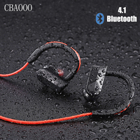 Sports Wireless Bluetooth Headphone Waterproof Earphone With Microphone Handsfree Stereo Ear Hook Earbuds For Phone Airpods