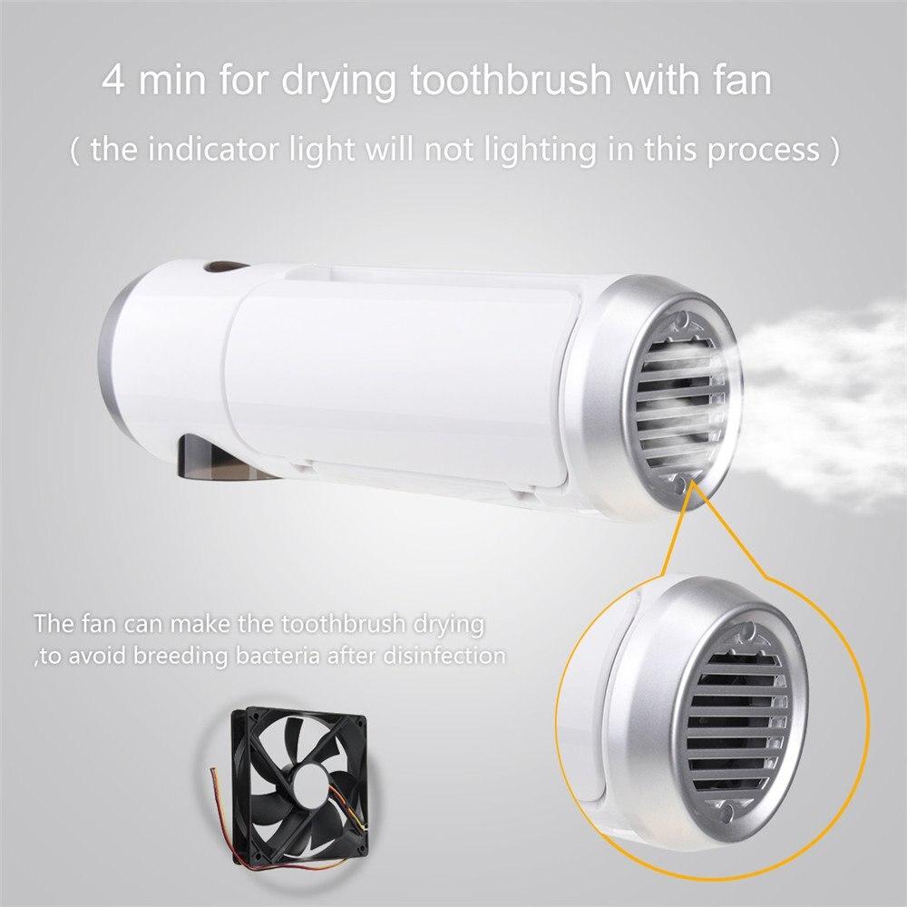 esterilizador titular ventilador secagem escova de dentes