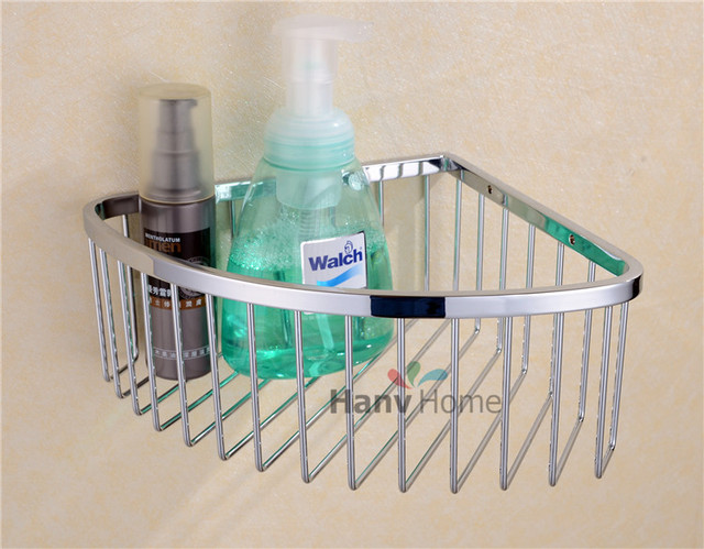 Bathroom Accessories Stainless Steel Wire Corner shelf Bracket ...