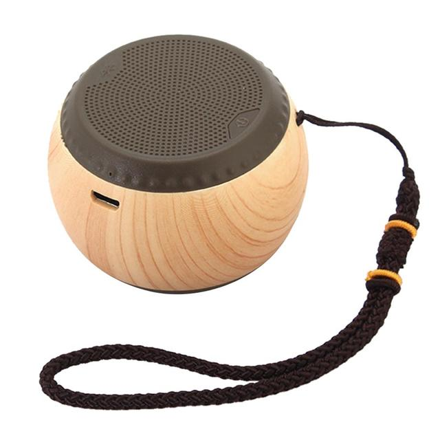 US $15 37 23% OFF|Retro Wood Grain Outdoor HIFI Stereo Bass Subwoofer  Chinese Small Chess Style Wireless Bluetooth Speaker Mini Portable Audio-in