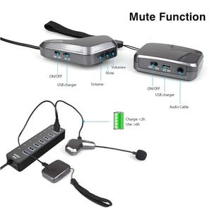 Image 4 - Micrófono inalámbrico MAONO de 2,4G, manos libres, ligero, Headworn Micofone, micrófono Vocal profesional de mano para mezclador de voz de YouTube