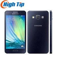 סמארטפון המקורי Samsung Galaxy A300F A3 A3000 Quad-Core אנדרואיד 4.5 Inch 8 GB ROM 4 גרם 8.0MP מצלמה טלפון נייד משופץ