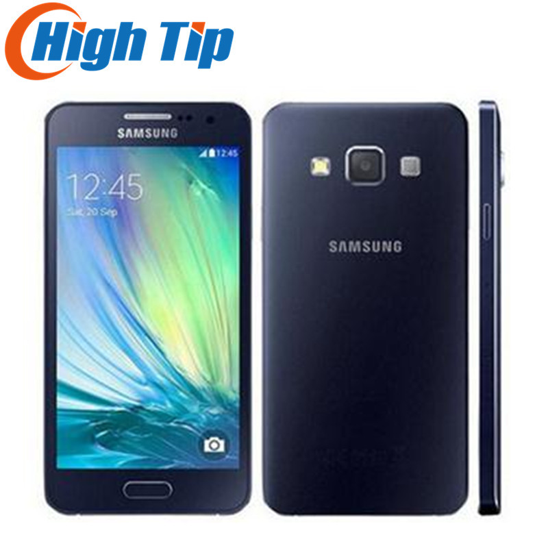 Unlocked Original Samsung Galaxy A3 A3000 A300F Quad-Core Android 4.5 Inch 8GB ROM 4G 8.0MP Camera Refurbished Mobile Phone