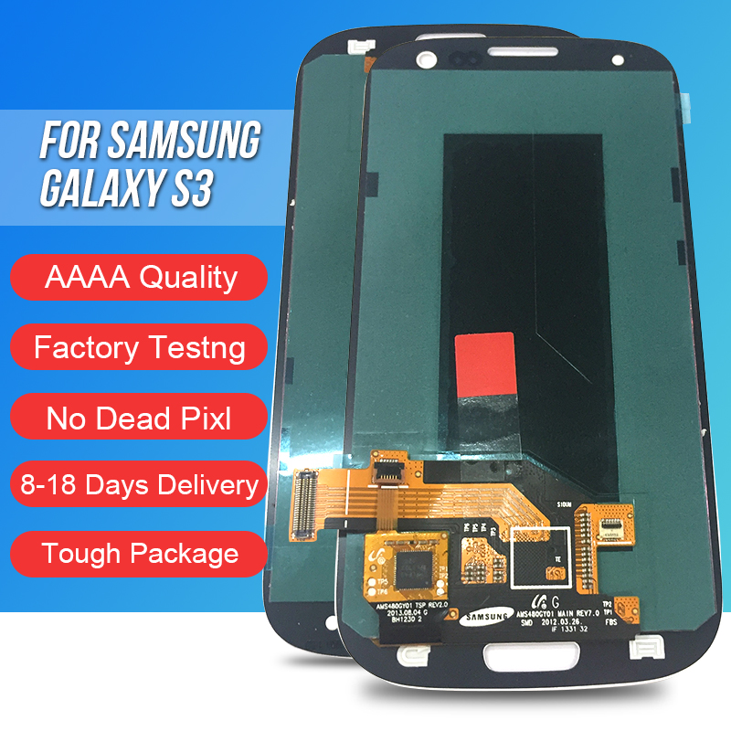 ACKOOLLA Mobile Phone LCDs For Samsung Galaxy S3 Mobile Phone Accessories Parts Mobile Phone LCDs Touch Screen Bracket