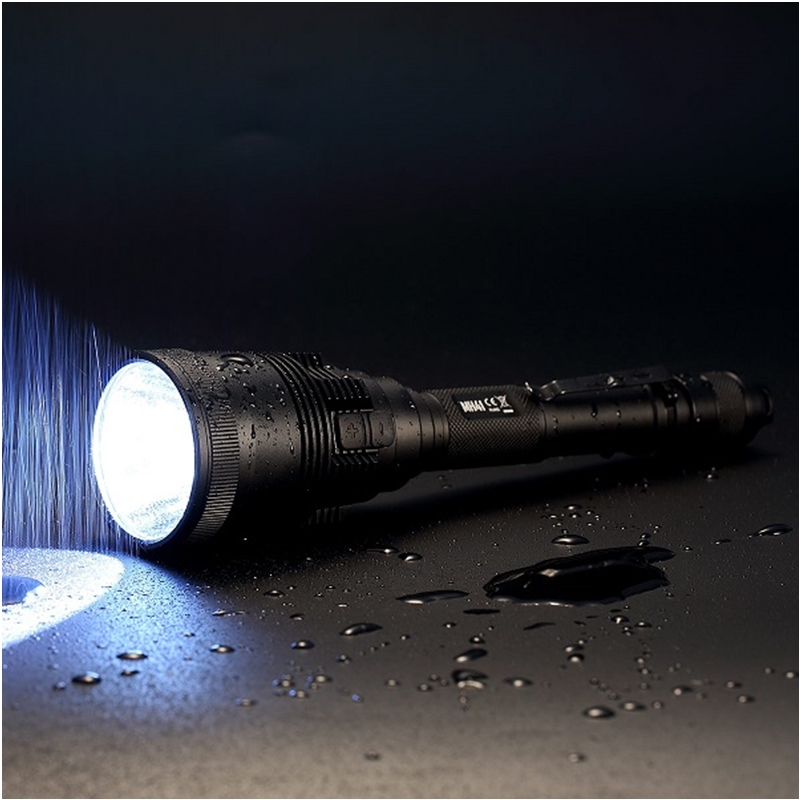 Multitask Rechargeable Flashlight NITECORE MH41 max 2150LM beam distance 495 meter outdoor torch 2pcs 18650 2300mAh batteries in LED Flashlights from Lights Lighting